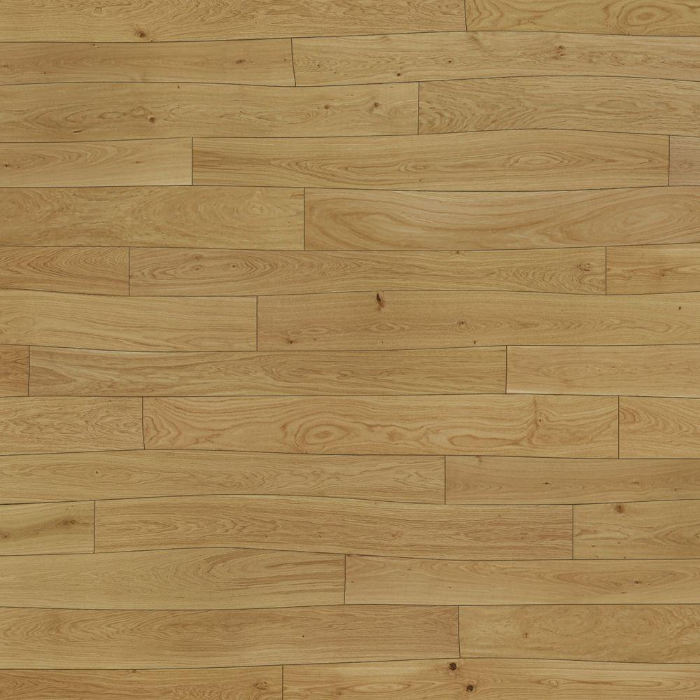 Bolefloor Curv8 Oak Natural 1/2 in. Thick x 8.66 in. Wide x 71.26 in. Length Engineered Hardwood Flooring (30 sq. ft. / case)