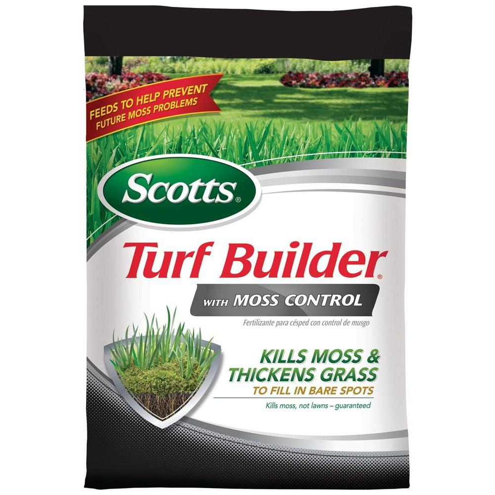 Scotts Turf Builder 5 000 Sq Ft With Moss Control 38505