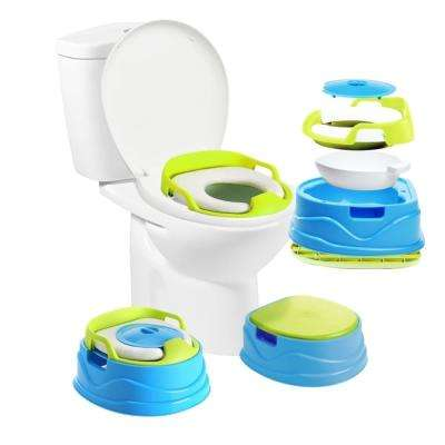 Babyloo Bambino Potty 3-in-1 Multi-functional Children's Toilet Training Seat in Blue