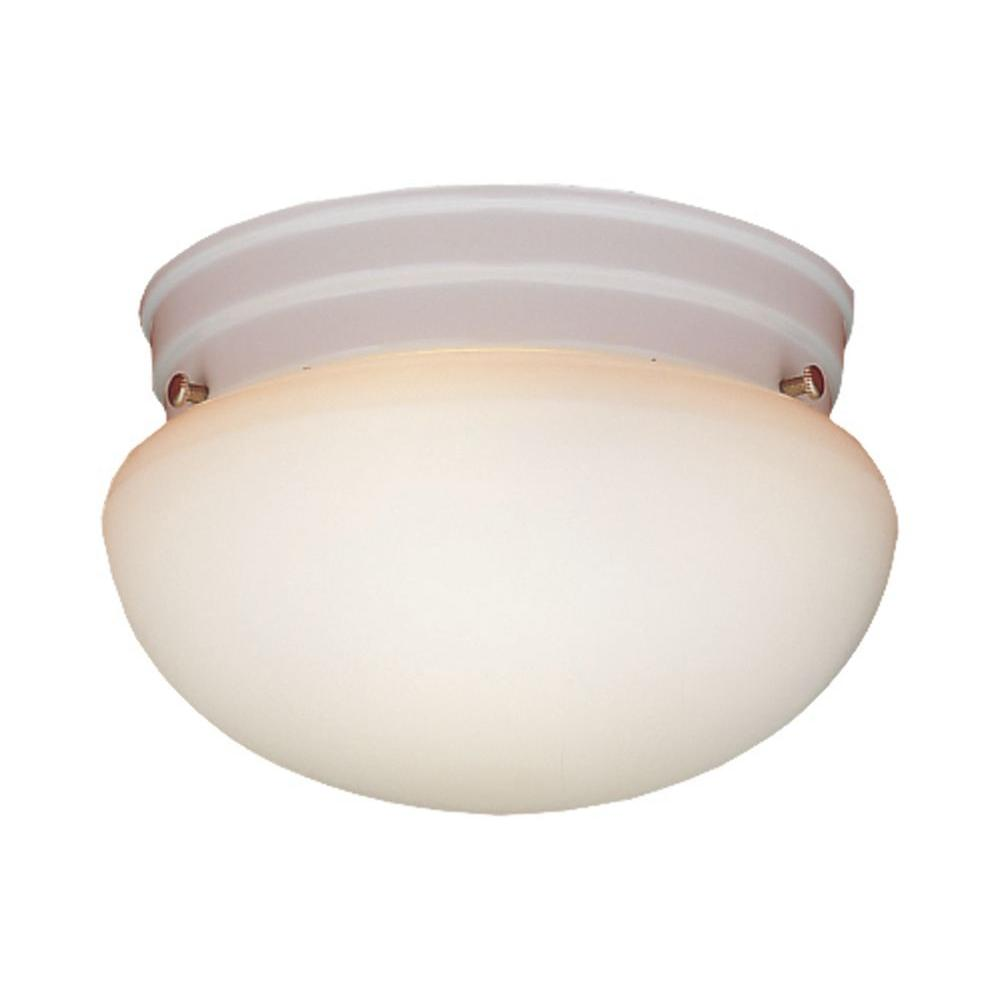 Thomas lighting 2 light matte white ceiling flushmount sl3268 the thomas lighting 2 light matte white ceiling flushmount arubaitofo Image collections
