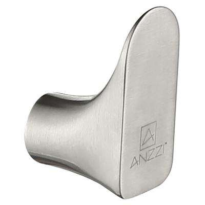 Essence Series Stainless Steel Robe Hook in Brushed Nickel