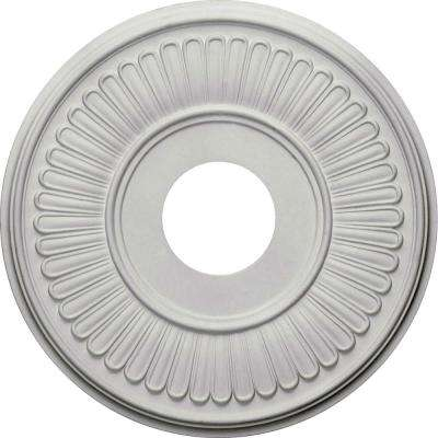 15-3/4 in. OD x 3-7/8 in. ID x 3/4 in. P (Fits Canopies up to 7 in.) Berkshire Ceiling Medallion