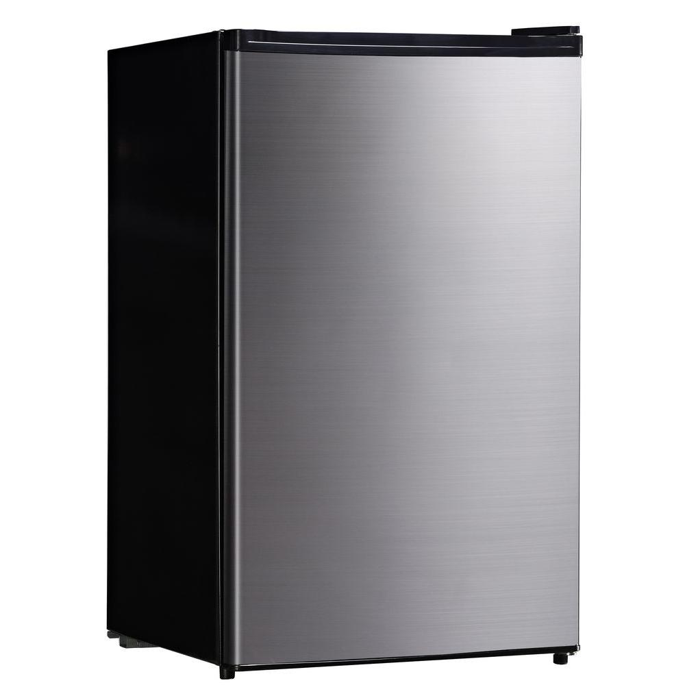 SPT 4.4 cu. ft. Mini Refrigerator in Stainless Steel-DISCONTINUED