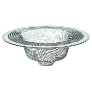 4-1/2 inch Mesh Kitchen Sink Strainer in Stainless-Steel by