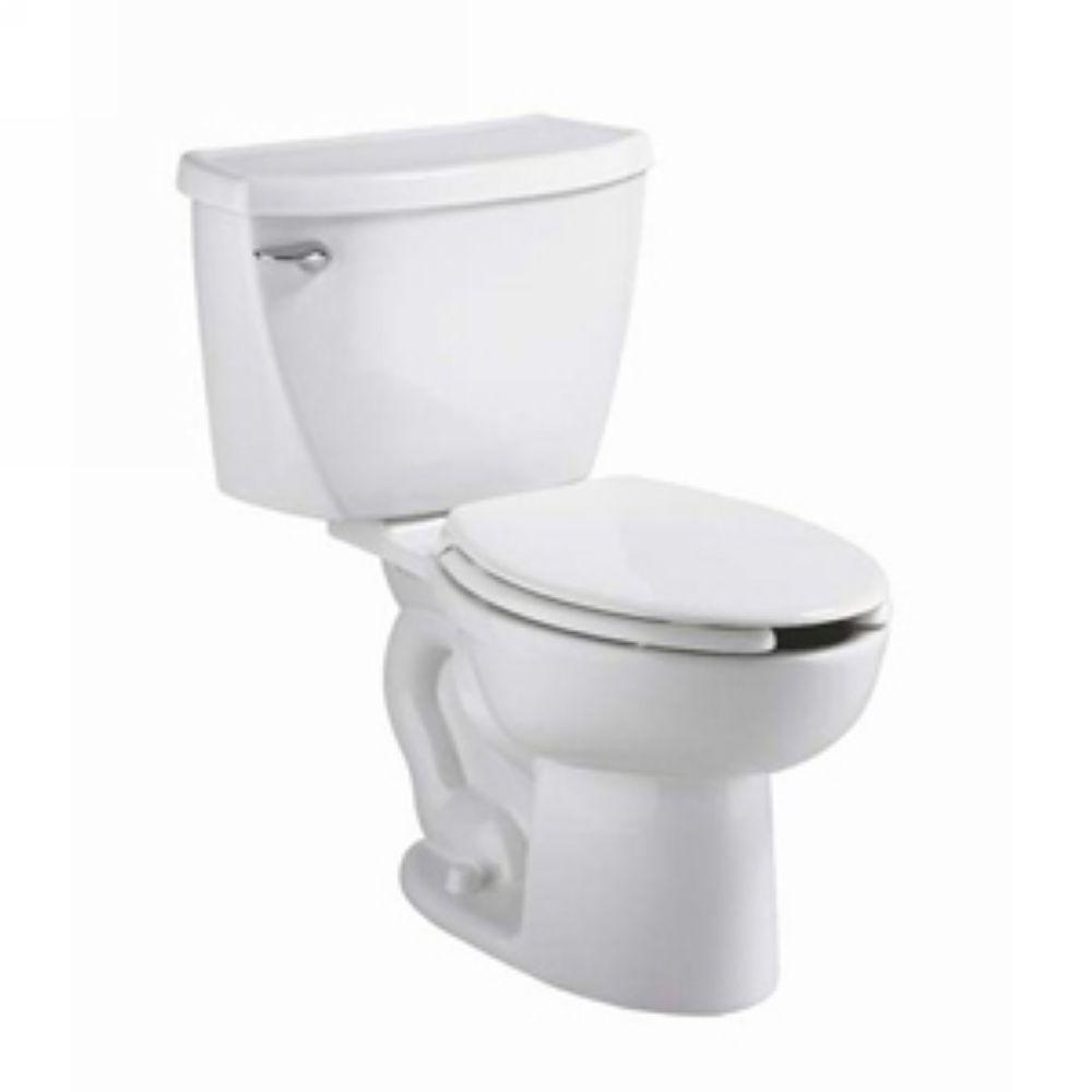 Cadet 2-Piece 1.6 GPF Tall Height Pressure-Assisted Elongated Toilet in White,