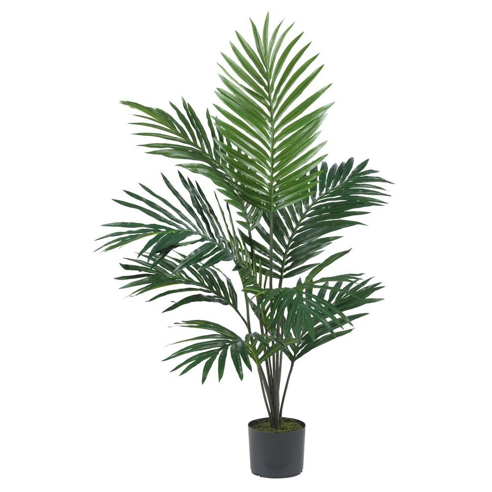 Nearly Natural 5 ft. Kentia Palm Silk Tree