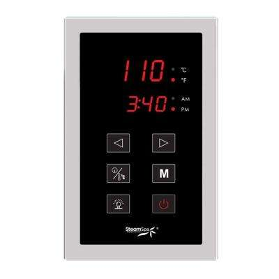 Steam Bath Generator Touch Screen Control Panel