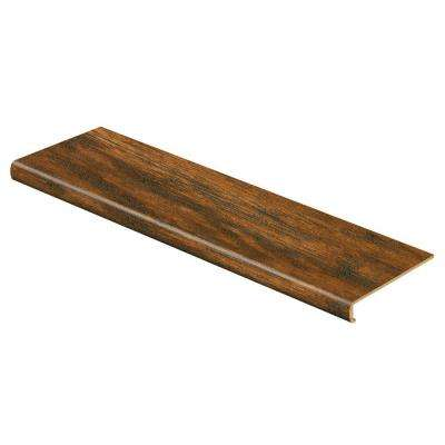 Medium Hickory 47 in. Length x 12-1/8 in. Deep x 2-3/16 in. Height Laminate to Cover Stairs 1-1/8 in. to 1-3/4 in. Thick