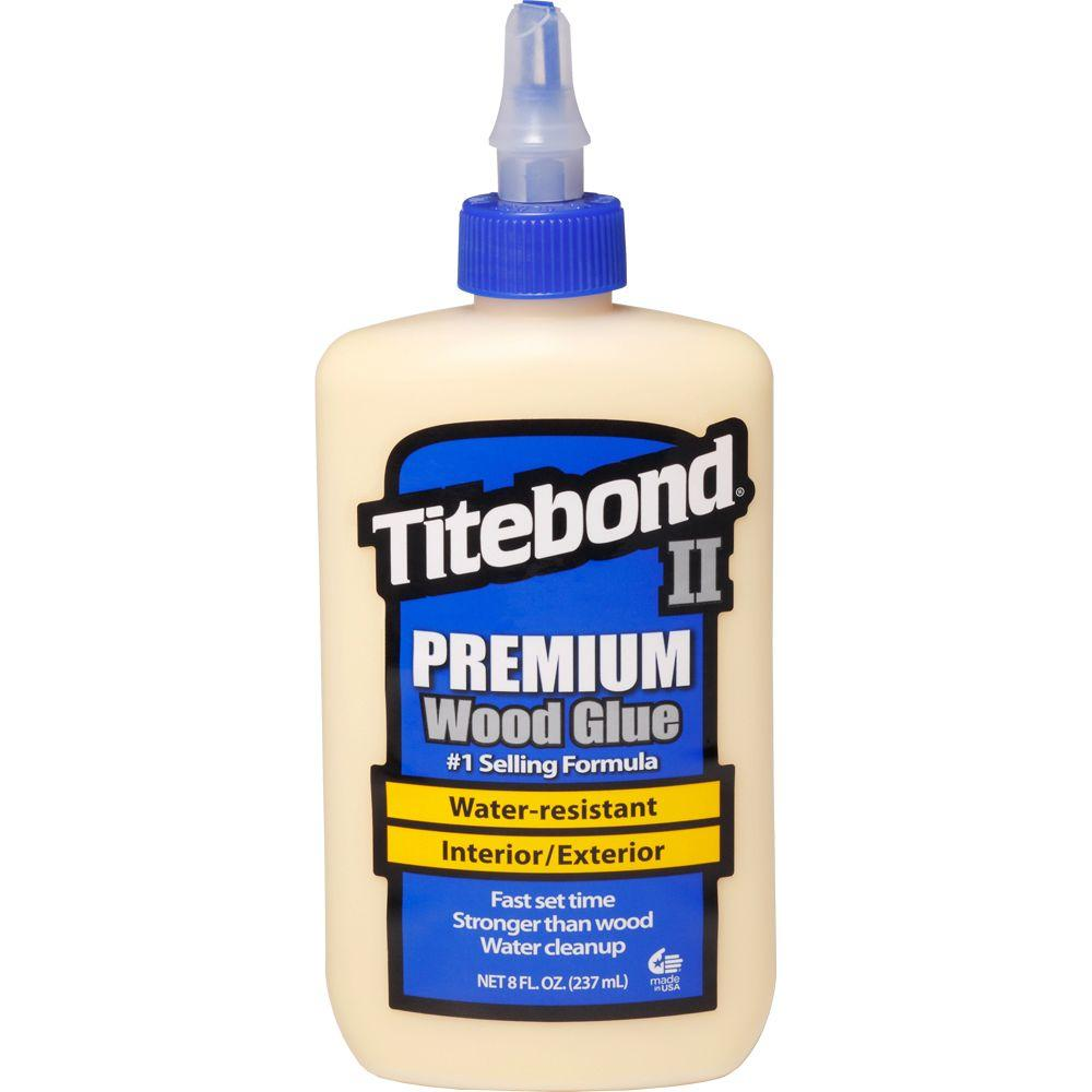 8 oz. Titebond II Premium Wood Glue (12-Pack)