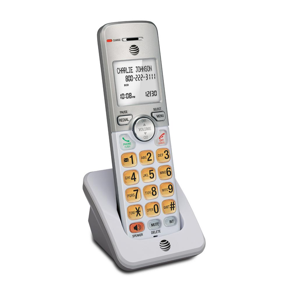 AT and T 1-Handset Expandable Digital Cordless Phone with Caller ID/Call  Waiting