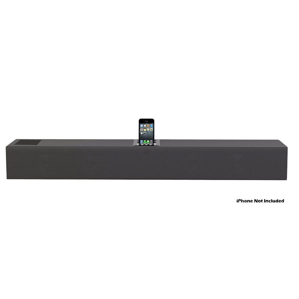 Pyle iPhone/iPod 2.1 Soundbar Docking System with Aux-In and Video Output-DISCONTINUED