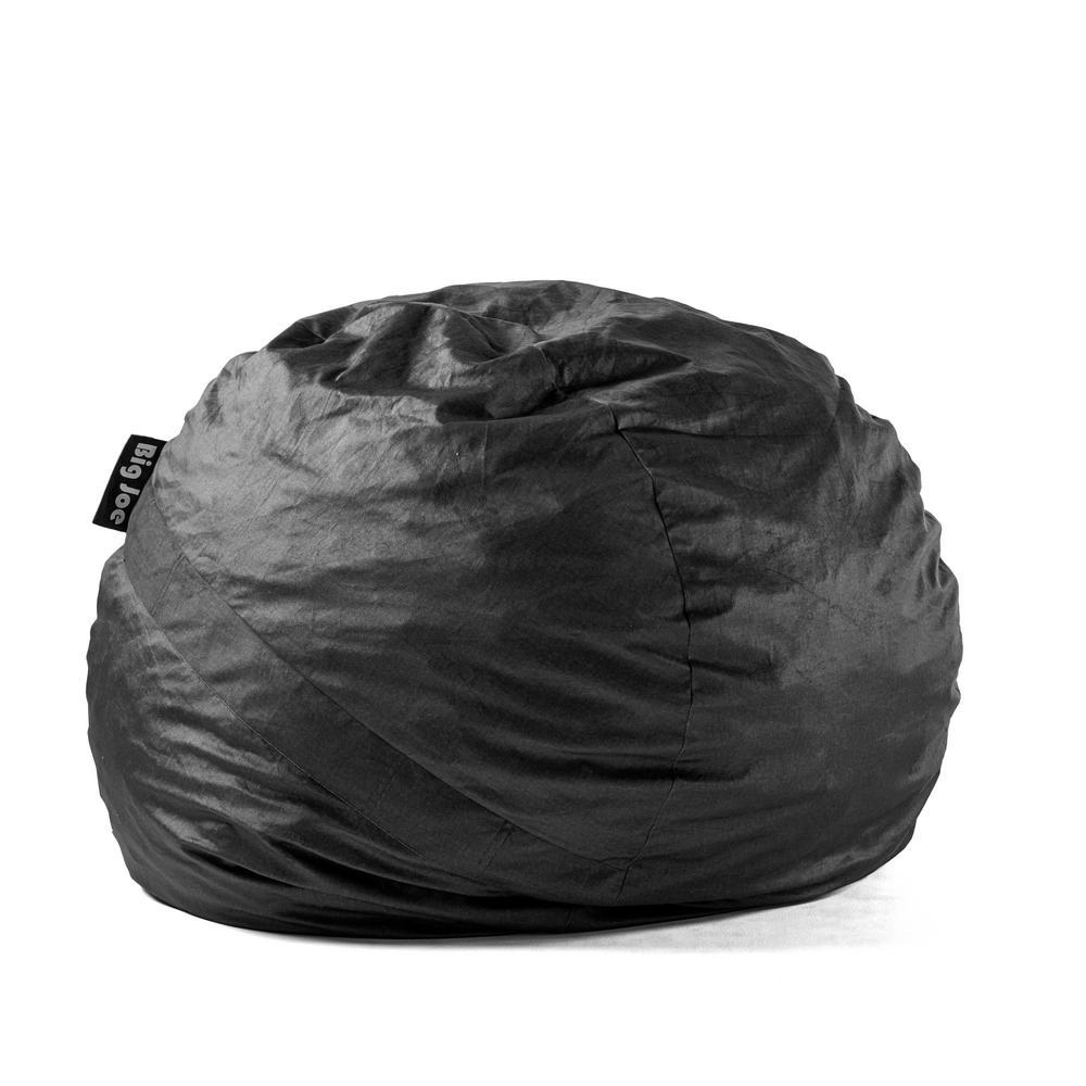 Big Joe Large FUF Shredded Ahhsome Foam Black Lenox Bean Bag