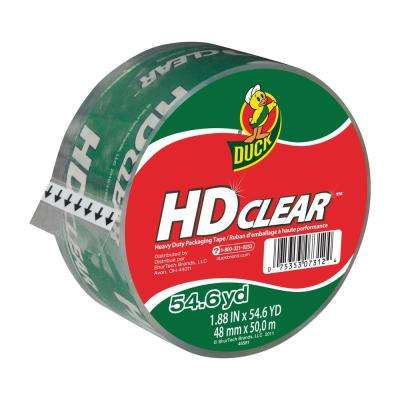 1.88 in. x 54.6 yds. High Performance Packing Tape Clear (12-Pack)