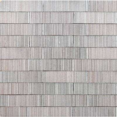 Weston Summit Polished White 2 in. x 9 in. Glazed Clay Subway Wall Tile (30-Piece 4.30 sq. ft./Case)