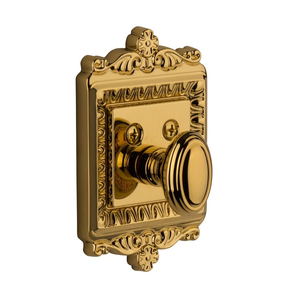Nostalgic Warehouse Windsor Lifetime Brass Single Cylinder Deadbolt - Keyed Differently