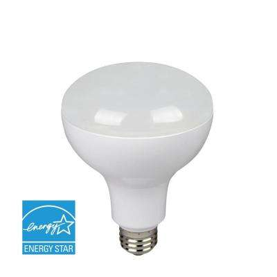 85W Equivalent White BR30 Dimmable LED Directional Flood Light Bulb