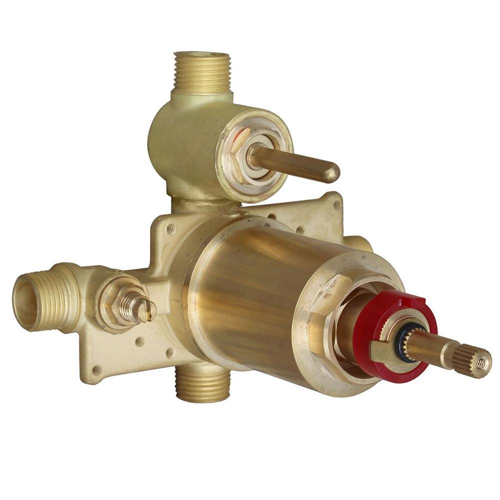 SentinelPro Thermostatic Pressure Balance Diverter Valve