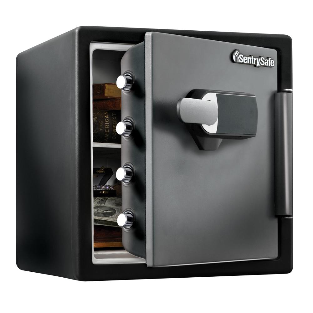 SentrySafe 1.23 cu. ft. Fireproof Safe and Waterproof Safe with Touch Screen