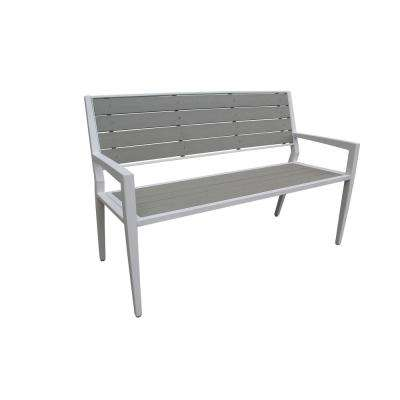 Everwood Cordoba 3-Person Metal Outdoor Bench