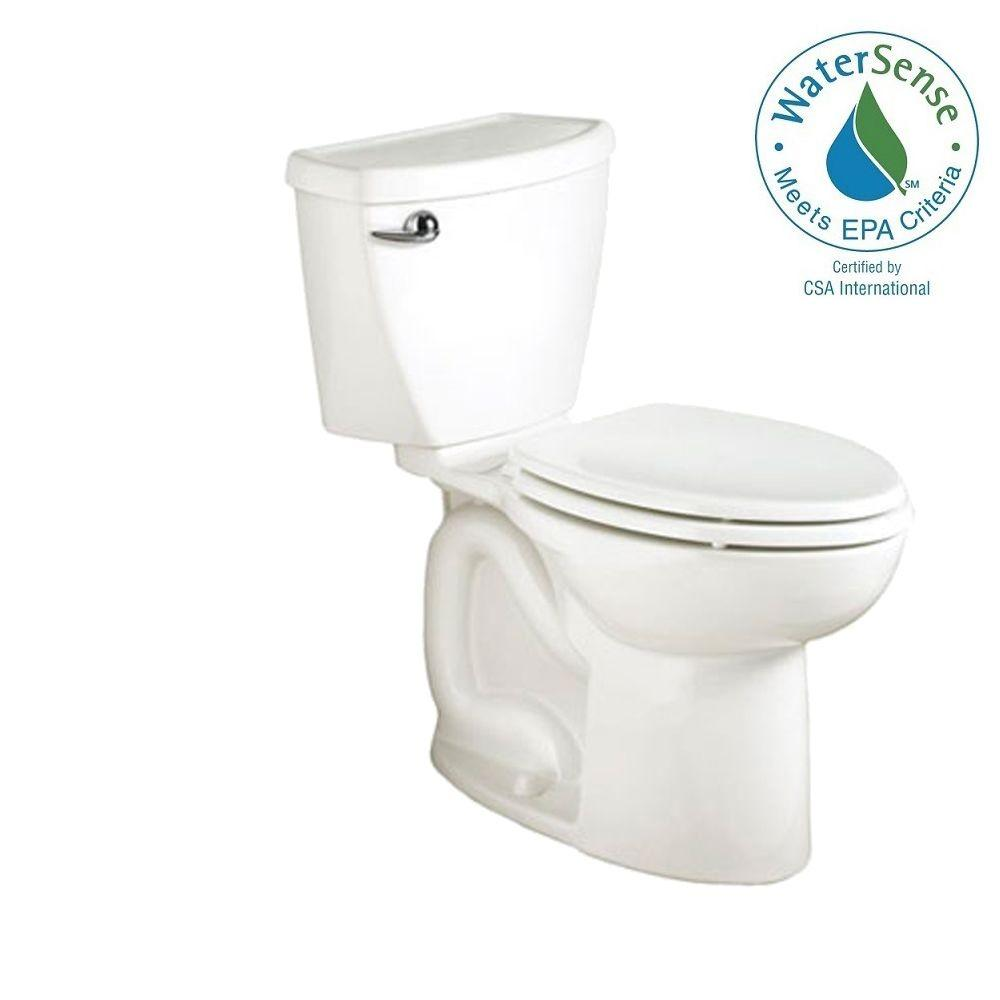 American Standard Cadet 3 FloWise Complete No-Tools 2-Piece 1.28 GPF Right Height Lined Tank High Efficiency Elongated Toilet in White