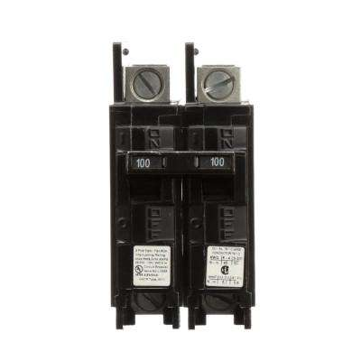 100 2 pole breakers circuit breakers the home depot. Black Bedroom Furniture Sets. Home Design Ideas