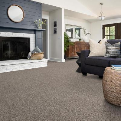 Wholehearted III - Color Raw Linen Twist 15 ft. Carpet