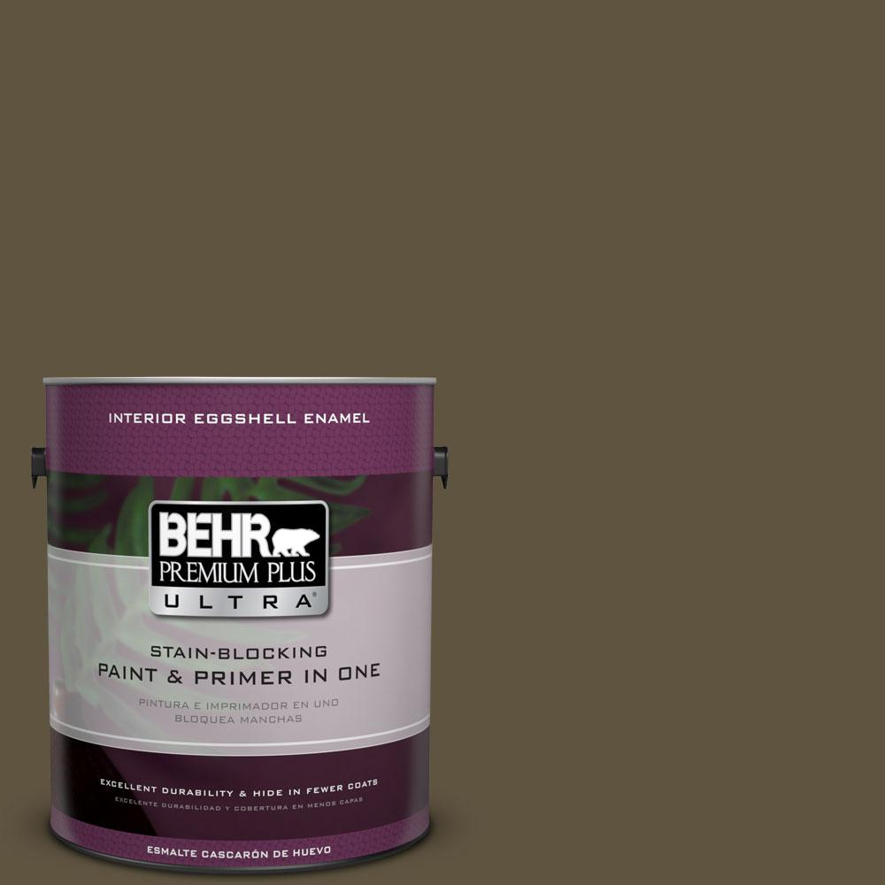 BEHR Premium Plus Ultra 1-gal. #S-H-750 Mountain Trail Eggshell Enamel Interior Paint