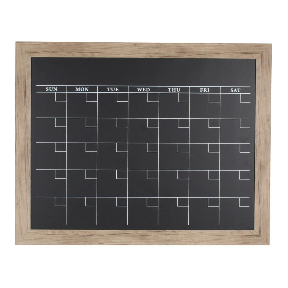 Beatrice Monthly Chalkboard Calendar Memo Board