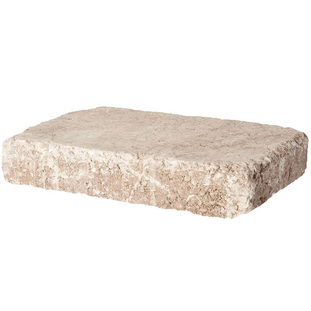 Pavestone RumbleStone Rec 10.5 in. x 7 in. x 1.75 in. Cafe Concrete Paver (192 Pcs. / 98 Sq. ft. / Pallet)