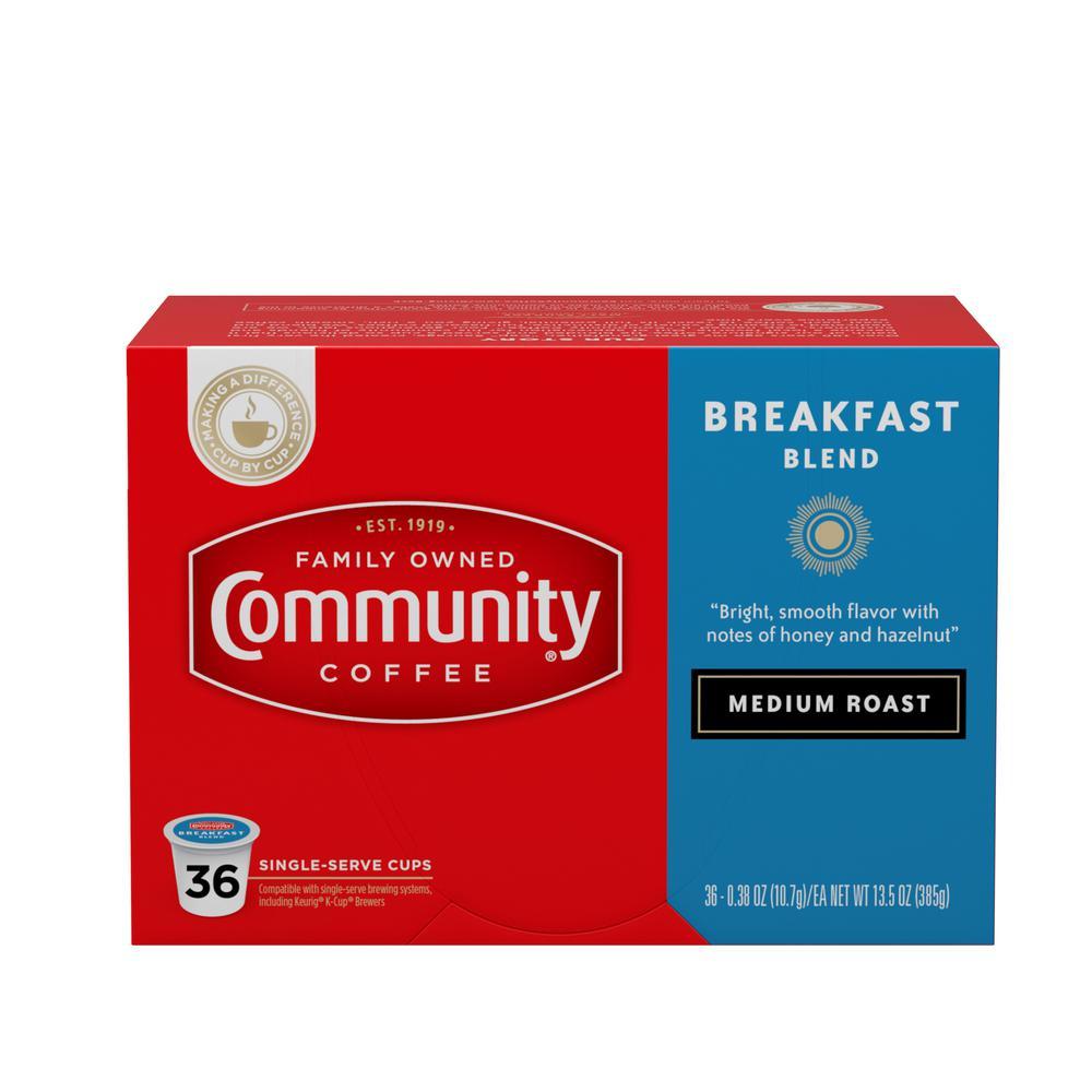 Breakfast Blend Medium Roast Single Serve Cups (144-Pack)