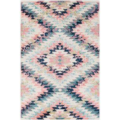 Ariane White 5 ft. x 7 ft. Indoor Area Rug