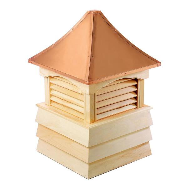 Sherwood 48 in. x 69 in. Wood Cupola with Copper Roof