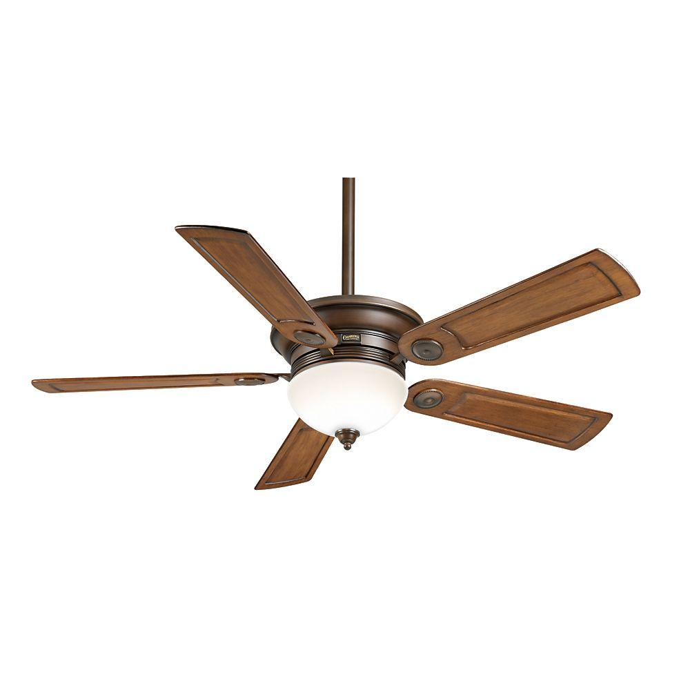 Casablanca Whitman 54 in. Brushed Cocoa Ceiling Fan-DISCONTINUED