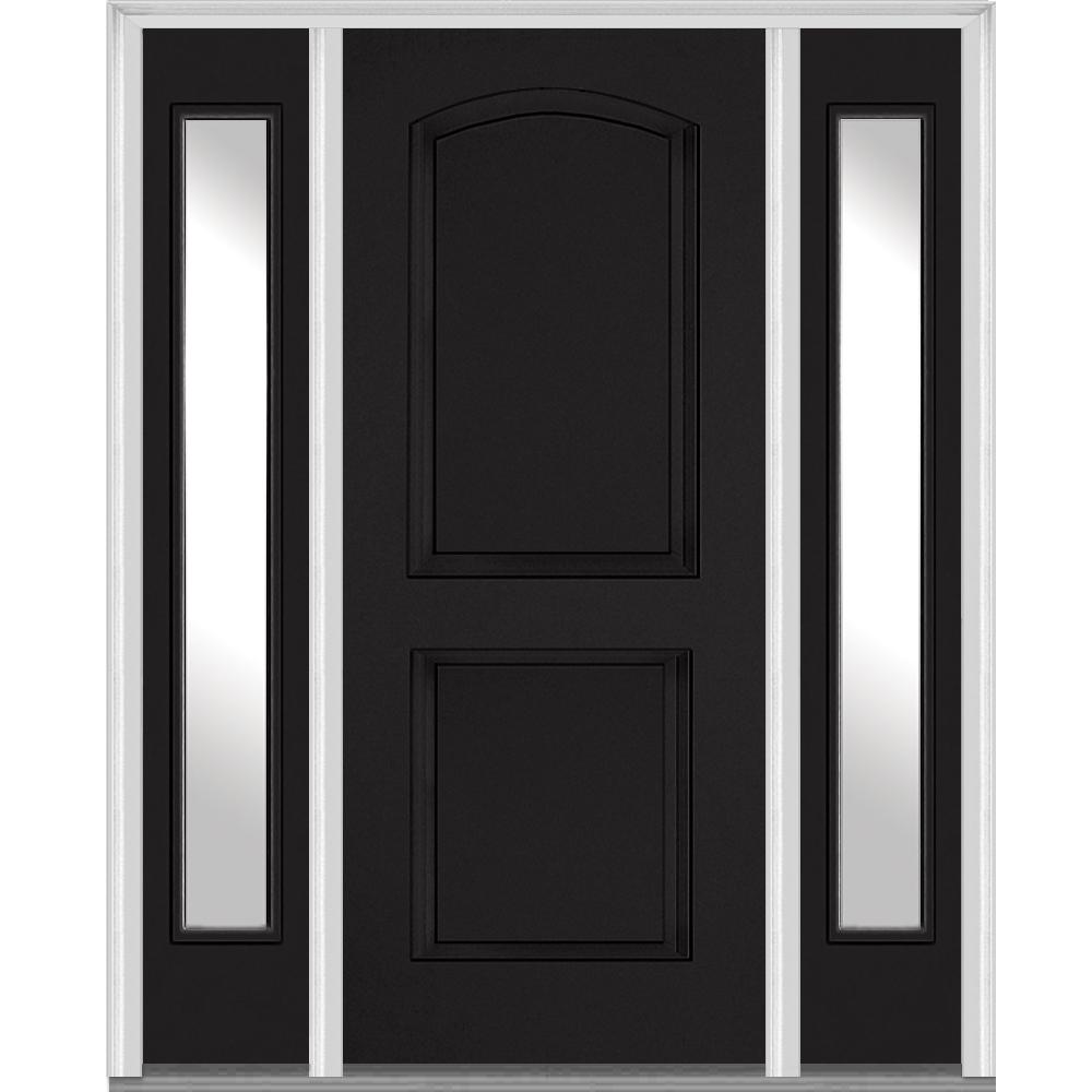 MMI Door 68.5 In. X 81.75 In. Left Hand Clear 2 Panel