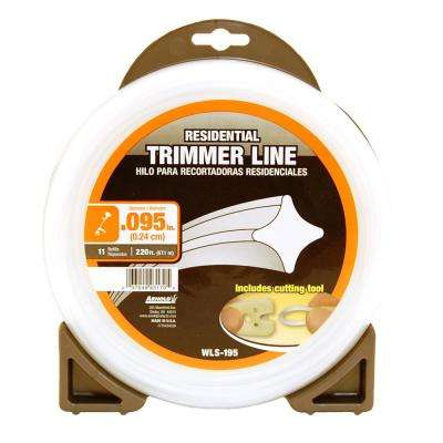 0.095 in. x 220 ft. Residential Trimmer Line