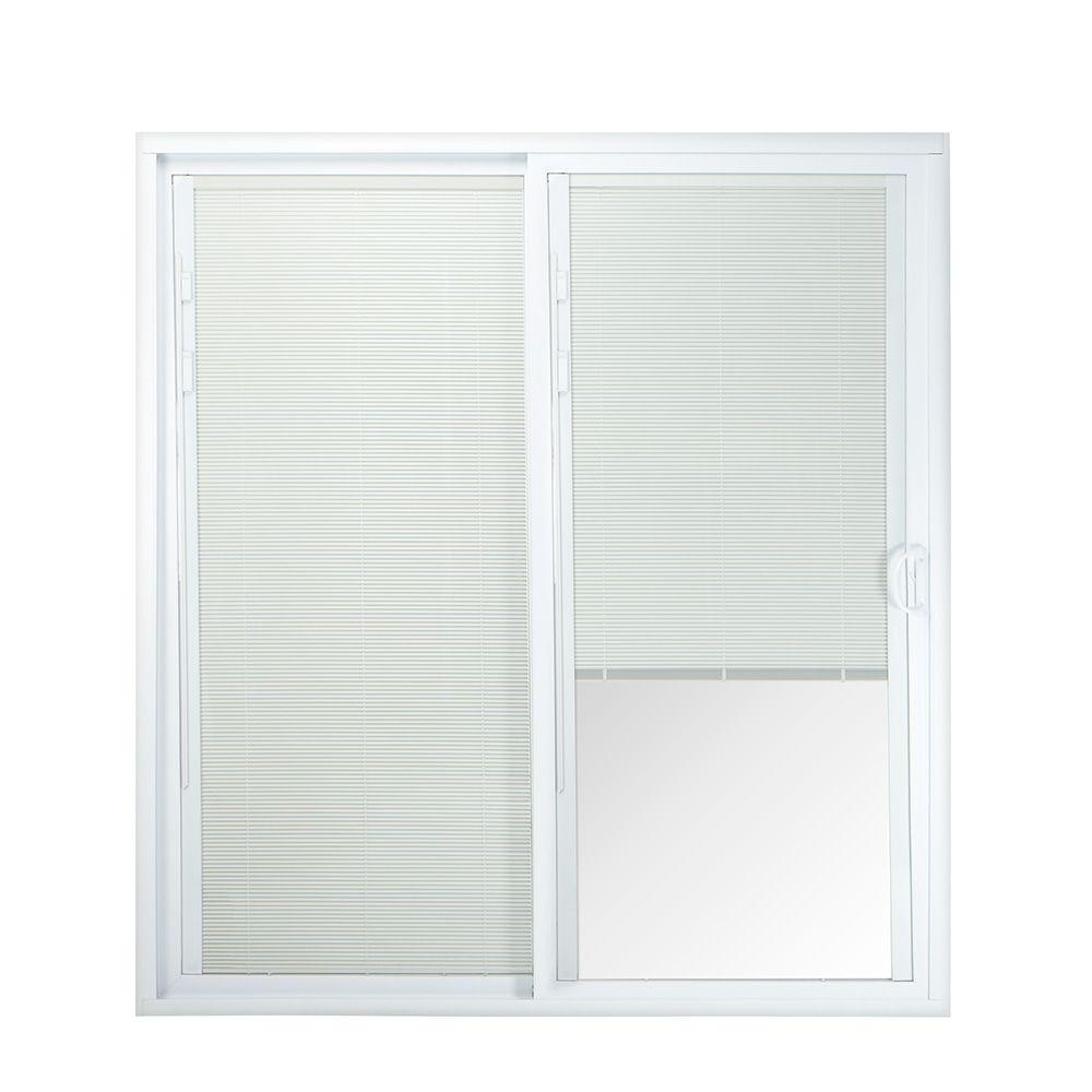 Ply Gem 72 in. x 80 in. Right-Hand Sliding Patio Door with LowE ...