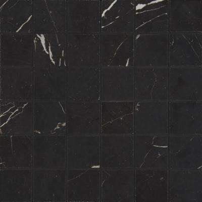 Alicante Marquinia 12 in. x 12 in. x 10mm Porcelain Mesh-Mounted Mosaic Tile (10 sq. ft. / case)