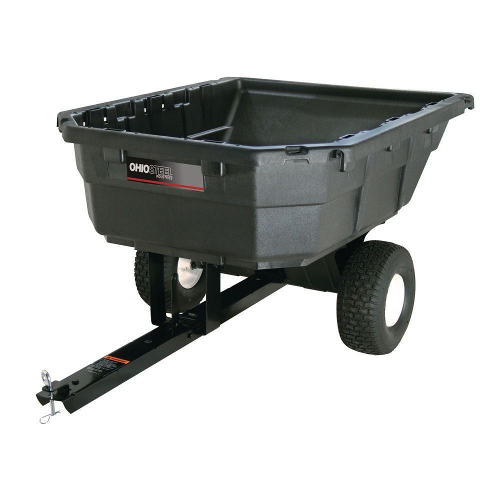 12.5 cu. ft. 750 lb. Premium Poly Dump Cart