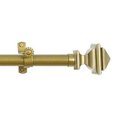 Bach Telescoping Single Curtain Rod Kit