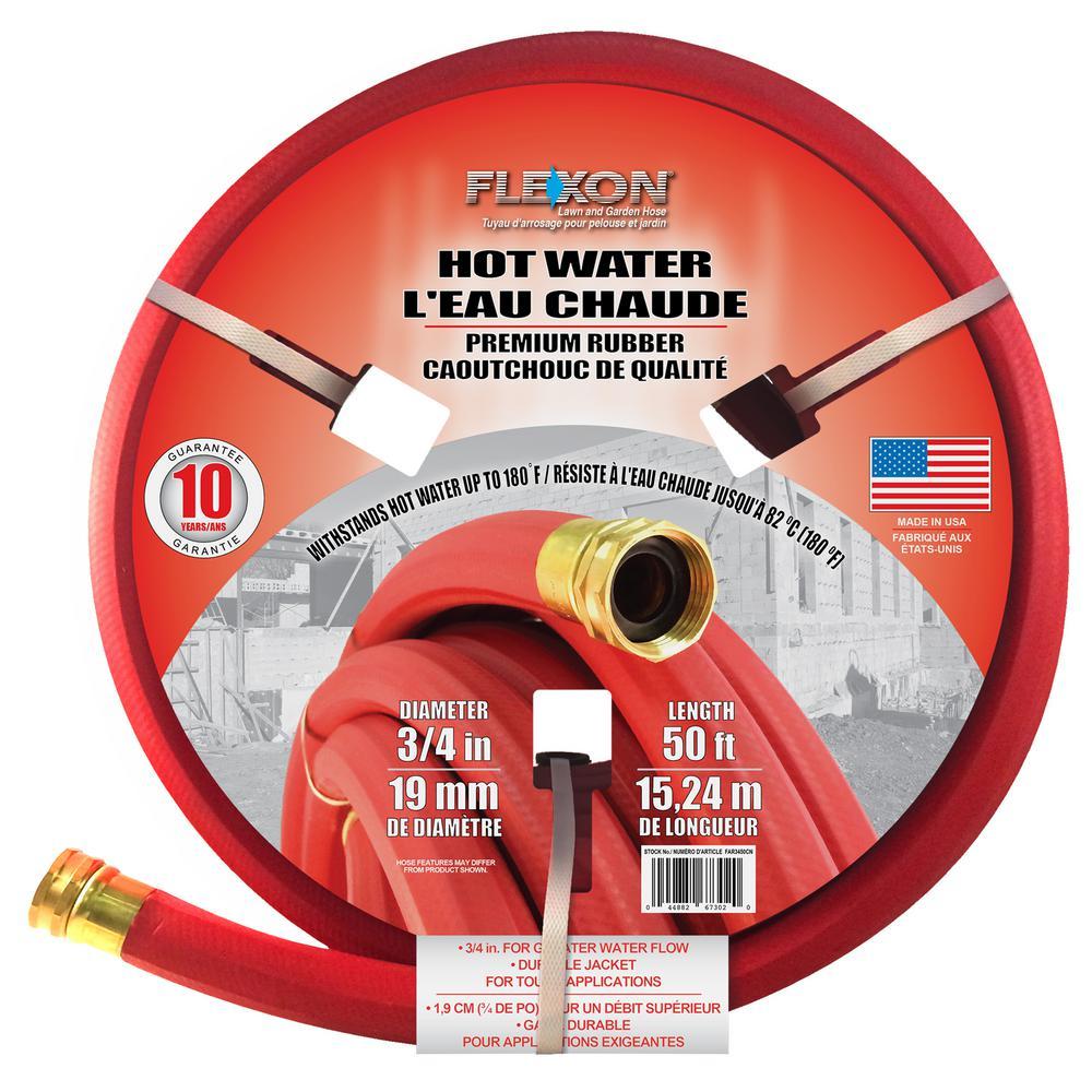 3/4 in. Dia x 50 ft. Premium Hot Water Rubber Hose
