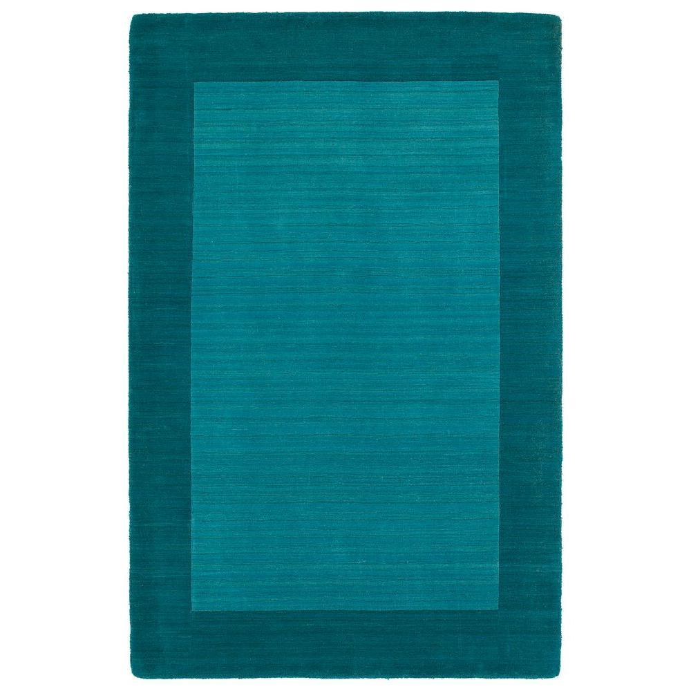 Kaleen Helena Turquoise Rug: Kaleen Helena Turquoise 8 Ft. X 10 Ft. Area Rug-3209-78