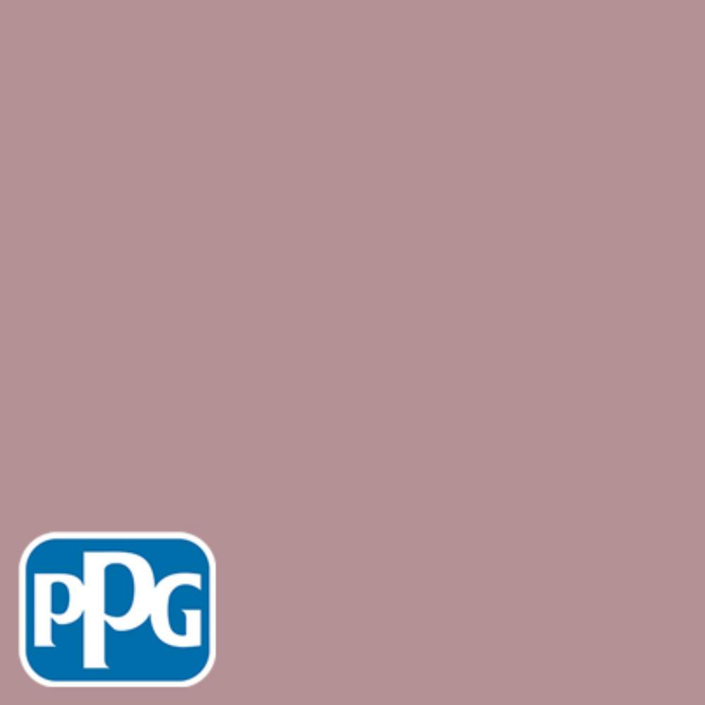 1 gal. #HDPPGR24D Dusty Brick Satin Exterior One-Coat Paint with Primer