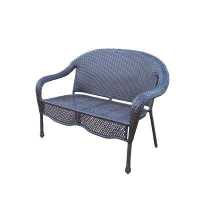 Elite Resin Wicker Patio Loveseat