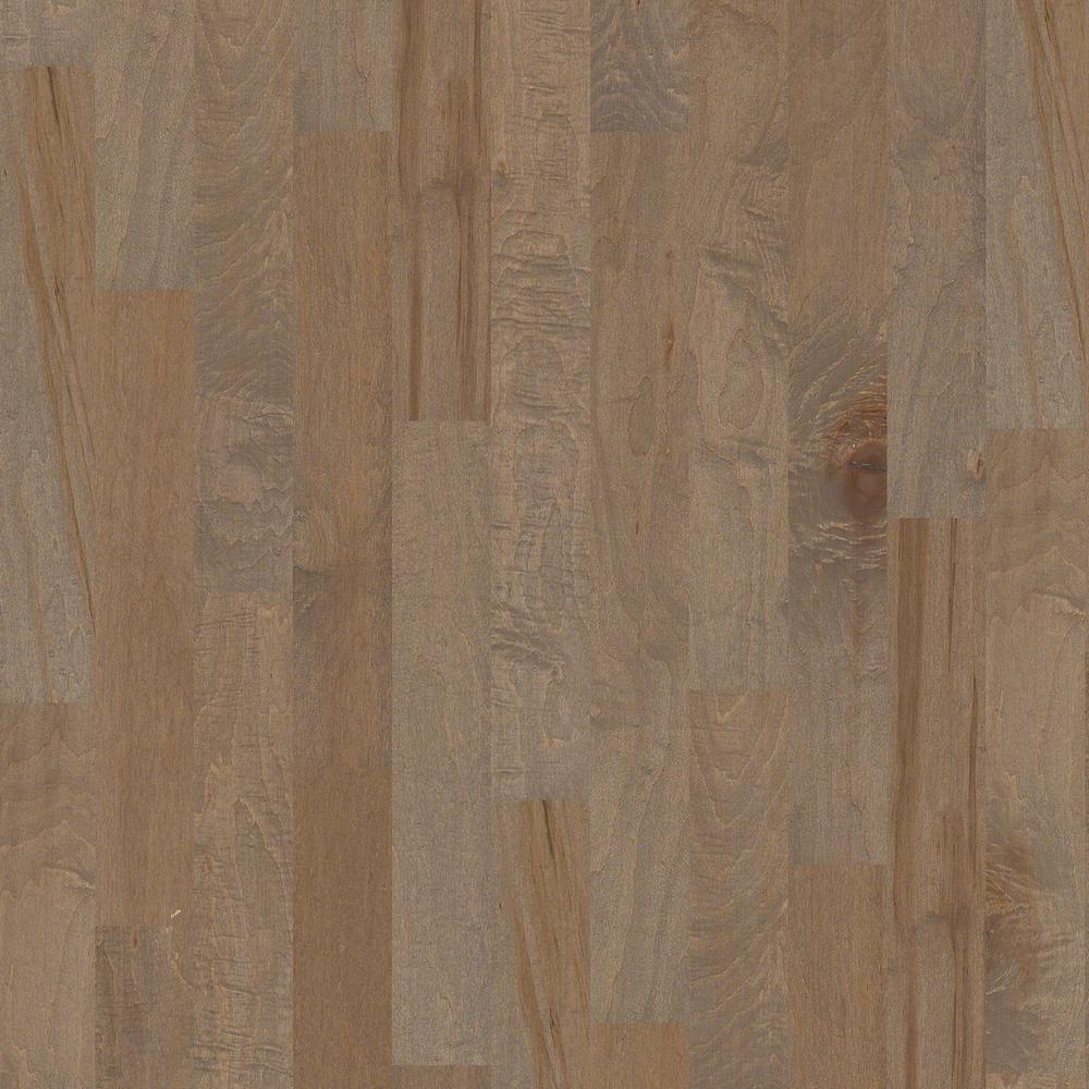 Blue ridge hardwood flooring red oak natural 3 8 in thick for Flooring maple ridge