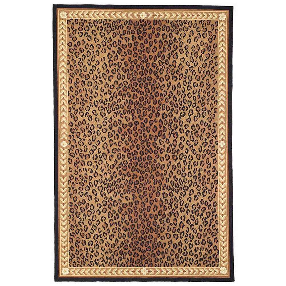 Safavieh Chelsea Black Brown 6 Ft X 9 Ft Area Rug Hk15a 6 The
