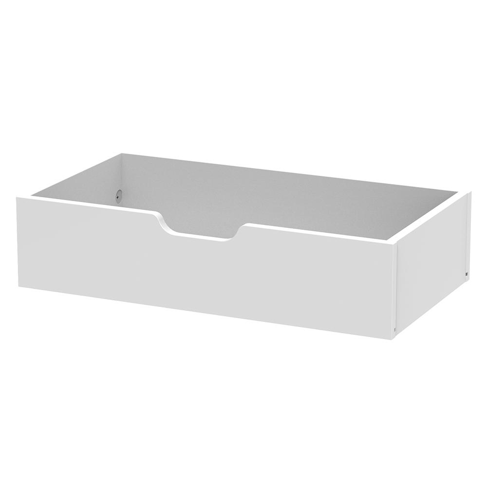 Closet Rollout Tray Drawer In Polar White