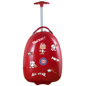 MLB Chicago Cubs Red 18 in. Kids Pod Luggage