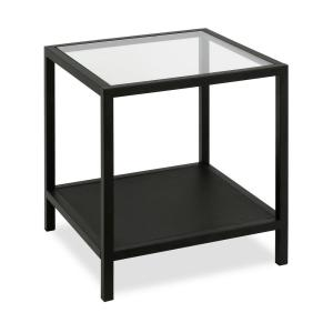Hudson Canal Rigan Side Table In Blackened Bronze St0089 The