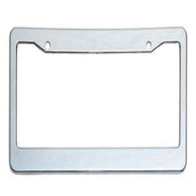 Plastic Chrome License Plate Frame