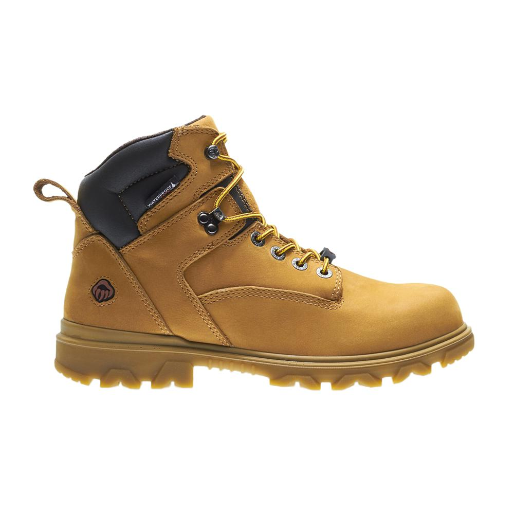 0b1fc9d6183 Wolverine Men's Size 8.5 Tan Grain Leather I-90 EPX Waterproof Soft Toe  Work Boots